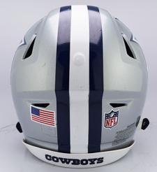 Cowboys SpeedFlex Helmet Back