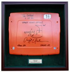 Dwight Clark Seatback Display Case