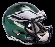 Eagles Chrome Mini Helmets
