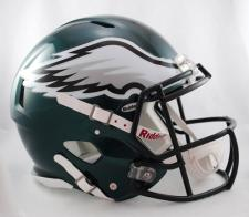 Super Bowl 52 Champions Eagles Speed Authentic Helmet by Riddell