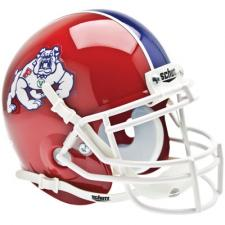 Fresno State Red Replica Full Size Helmet by Schutt