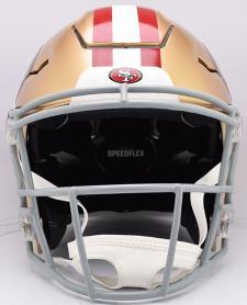 49ers Speed Flex Helmet Front