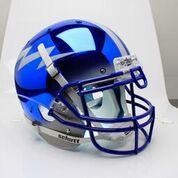 Chrome Air Force Football Helmet