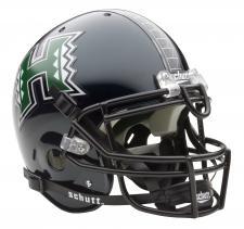 Hawaii Warriors Full Size Authentic Helmet by Schutt