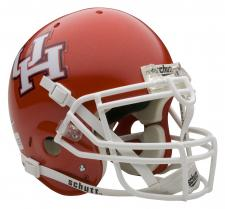 Houston Cougars Full Size Authentic Helmet by Schutt