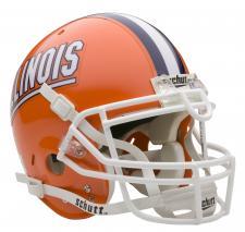 Illinois Fighting Illini Full Size Authentic Helmet by Schutt