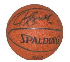 Joe Smith Autographed NBA Mini Basketball by Spalding