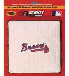 Atlanta Braves Official MLB Mini Base by Schutt