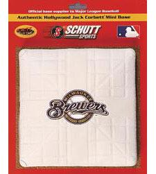 Milwaukee Brewers Official MLB Mini Base by Schutt Image