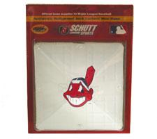 Cleveland Indians Official MLB Mini Base by Schutt. Image
