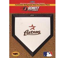 Houston Astros Mini Home Plates by Schutt Image