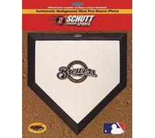 Milwaukee Brewers Mini Home Plates by Schutt Image