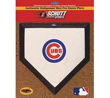 Chicago Cubs Mini Home Plates by Schutt Image