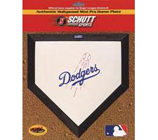 Los Angeles Dodgers Mini Home Plates by Schutt