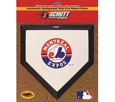 Montreal Expos Mini Home Plates by Schutt Image