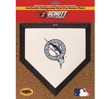 Florida Marlins Mini Home Plates by Schutt Image