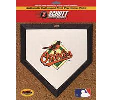 Baltimore Orioles Mini Home Plates by Schutt Image