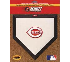 Cincinnati Reds Mini Home Plates by Schutt Image