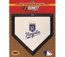 Kansas City Royals Mini Home Plates by Schutt Image