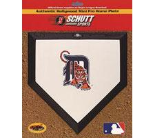 Detroit Tigers Mini Home Plates by Schutt Image