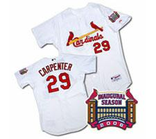 Chris Carpenter St. Louis Cardinals Authentic Baseball Jersey by Majestic, Home,