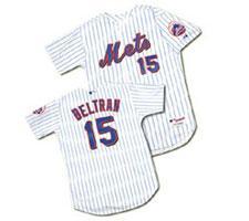 Carlos Beltran New York Mets Baseball Jersey by Majestic, Home, White, size 48,