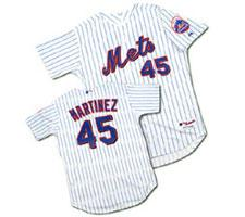 Pedro Martinez New York Mets Baseball Jersey by Majestic
