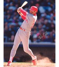 Will Clark Rangers 16x20 #1050 Autographed Photo