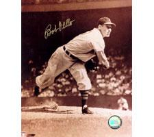 Bob Feller Indians 8x10 #245 Autographed Photo