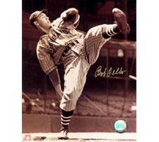 Bob Feller Indians 8x10 #246 Autographed Photo
