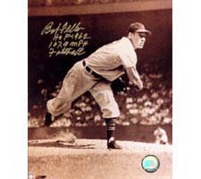 Bob Feller Indians 8x10 #249 Autographed Photo