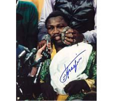 Joe Frazier Autographed Photo