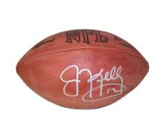 Jim Kelly Autographed Official Tagliabue NFL Game Football