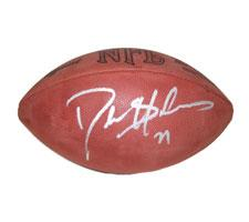 Deion Sanders signed football