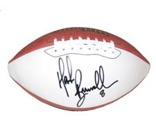 Mark Brunell Autographed Robby Single White Panel Football