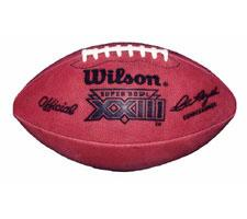 Super Bowl 23 Football Official Game Model by Wilson