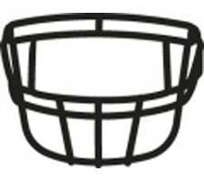 Style #15 Navy Full Size Facemask by Schutt Image