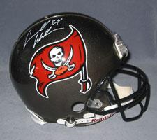 Cadillac Williams Autographed Tampa Bay Buccaneers Pro Line Helmet by Riddell