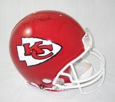 Joe Montana Autographed Chiefs Pro Line Helmet