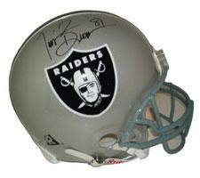 Tim Brown Autographed Oakland Raiders Pro Line Helmet by Riddell