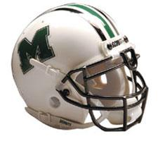 Marshall Thundering Herd Full Size Authentic Helmet by Schutt Image