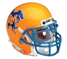 McNeese State Cowboys Full Size Authentic Helmet by Schutt Image