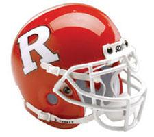 Rutgers Scarlet Knights Full Size Authentic Helmet by Schutt Image