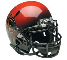 San Diego State Aztecs Full Size Authentic Helmet by Schutt Image