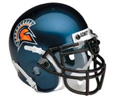 San Jose State Spartan Full Size Authentic Helmet by Schutt Image