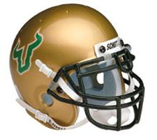 South Florida Bulls Full Size Authentic Helmet by Schutt Image