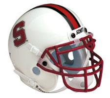 Stanford Cardinals Full Size Authentic Helmet by Schutt