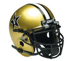 Vanderbilt Commodores Full Size Authentic Helmet by Schutt Image