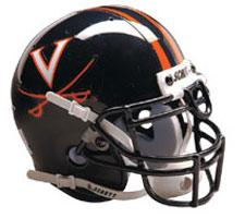 Virginia Cavaliers Full Size Authentic Helmet by Schutt Image