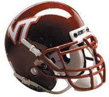 Virginia Tech Hokies Full Size Authentic Helmet by Schutt Image